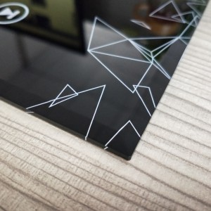 High Quality 2mm 3mm 4mm Top Tempered Glass with Customized Design for Dermograph Device