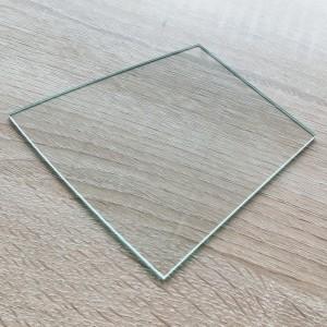OEM 2mm Irregular Shape Front Glass for Gym Appliance