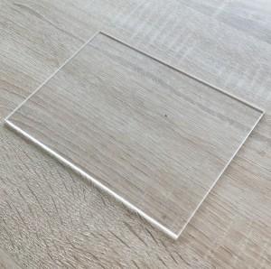 Quartz Glass Plate SlabHigh Light Transmittance 92- 99.5% Transparent UvQuartzGlassPlate