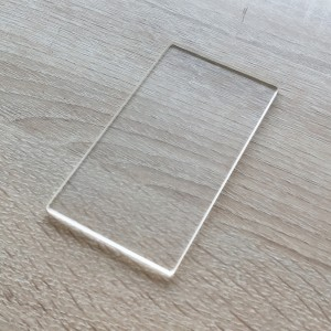 Custom Heat Resistting ClearQuartzGlassSheet High Purity Clear Glass Sheet for UV Disfection
