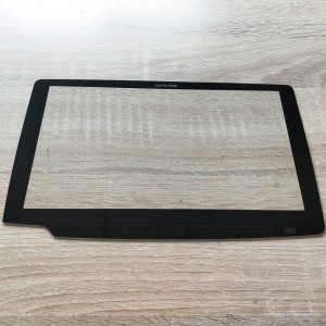 Factory Direct Supply Cut to Size 1.1mm Front Cover Glass with Irregular Shape for Car Dashboard Touch Screen