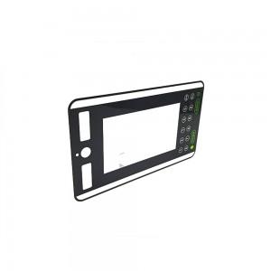 Factory Supply 2mm 3mm OEM Wholesale Custom Front Window Tempered Silkscreen Printing Gorilla Glass