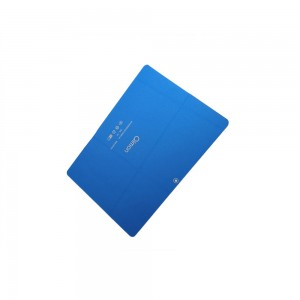 Custom 1.1mm Toughened Glass with Premium Blue Back Glass Panel for 10inch Tablet PC