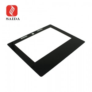 Anti-Scratch 12.1inch 1.1mm Gorilla Glass Display Cover Glass with IR Print for POS Machine