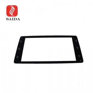 Low Reflective 5inch 1.1mm Car Dashboard Anti-Glare Front Toughened Glass for Electircal Vehical Player