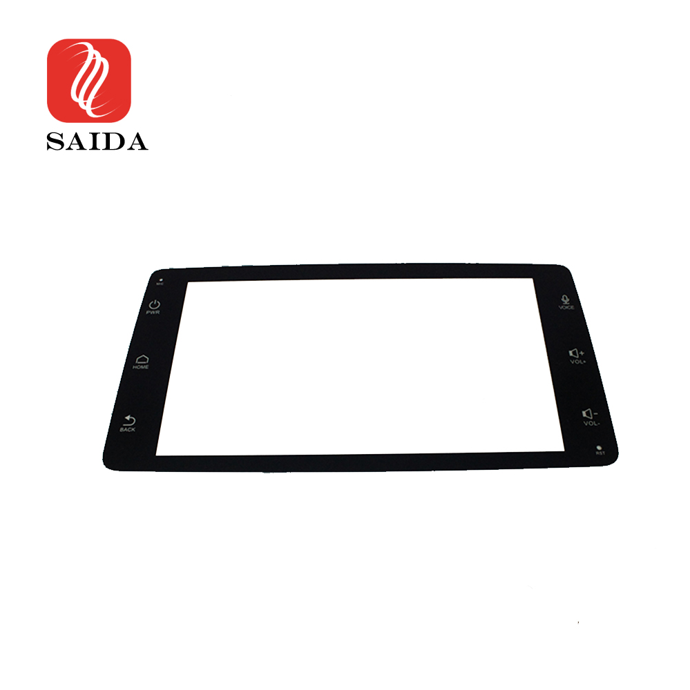 Low Reflective 5inch 1.1mm Car Dashboard Anti-Glare Front Toughened Glass for Electircal Vehical Player Featured Image