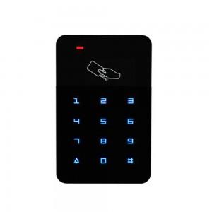 Custom 1mm Front Protective Glass wtih Semi Translucent Printing for Smart RFID Door Lock
