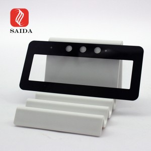 OEM Low Reflective 0.7mm Etched Anti-Glare Display Front Cover Tempered Glass Panel for OLED Display