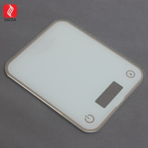 Customzied Waterproof 5mm 6mm Tempered Glass for Kitchen Scale