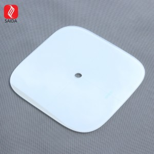 Factory Supply IK08 White Deisgn Thermal Tempered Glass Top Glass for Kitchen Scale