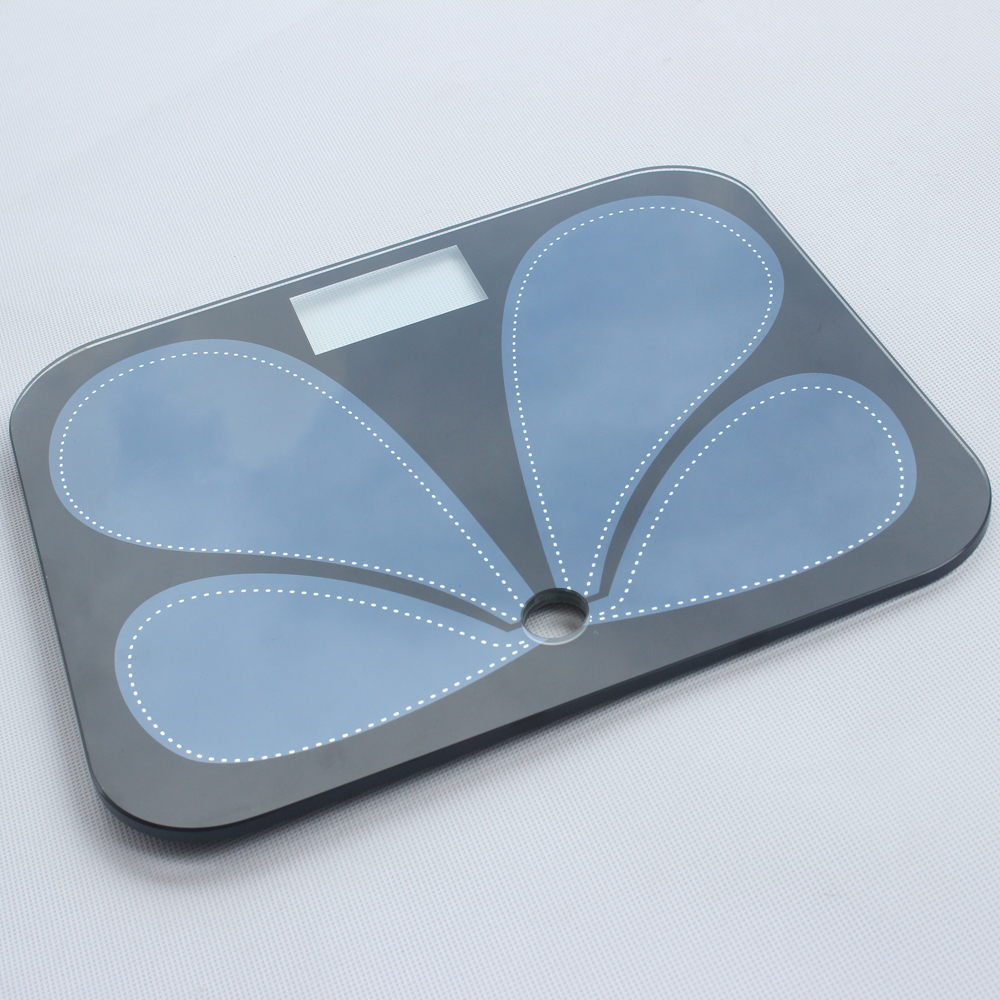 Hot Sale 4mm ITO conductive Top Glass Plate for Body Fat Scale Featured Image