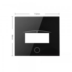 Custom Float Glass 2mm Protective Glass for Touch Panel Display