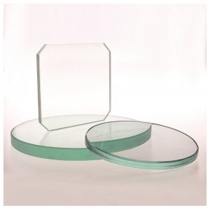 Factory Direct Supply 20mm Thickness Heat Resistant Borosilicate Glass Sight Glass for Industrial Field