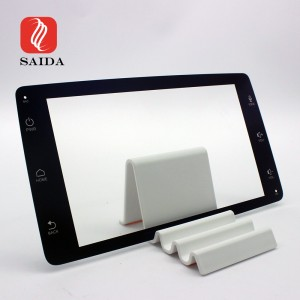 High Quality 5.8inch Etched Anti-Glare+Anti-Reflective+Anti-Fingerprint Coated Display Screen Cover Glass for Car Navigation
