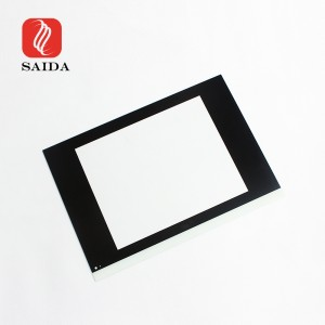 12.5inch to 23inch LCD Display Front Cover Glass with Customized Design for Touch Screen