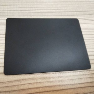 Top Quality AGC Dragontrial 1mm Matt Surface Smooth Touch Feel Top Keyboard Glass