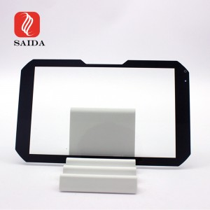 Scartch Resistant 1.1mm 7H Toughened Screen Glass Protector with Slot for Touch Panel