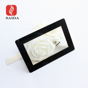 Custom 3mm Anti Glare LCD Display Touch Panel Protection Cover Glass with Silk Screen Printed
