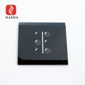Dongguan Factory 3mm bonolo Glass Panel le Bevel Edge tsa tšoara switjha