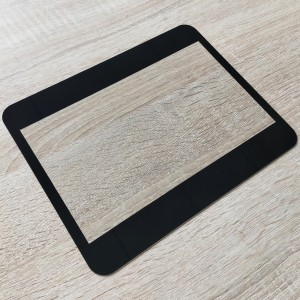 Custom 20inch Front Cover Glass Front Tempered Glass for Touch Screen Tablet