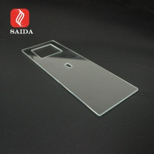 US Clear Tempered Glass Panel Double Smart Wall Socket Clear Glass Smart Home Devices