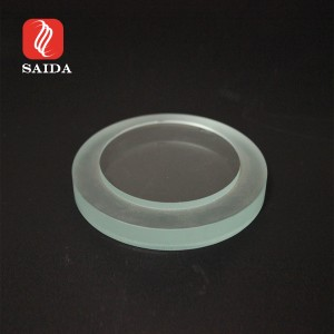 Waterproof IP0610mm Ultra Clear Temepred Glass with Stepped Edge for Lighting or Watermeter
