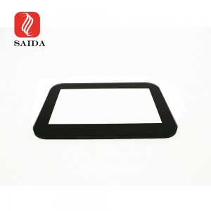 IK08 6mm Display Window Glass High Temperature Resistant Ceramic Glass for Gas Detection Device