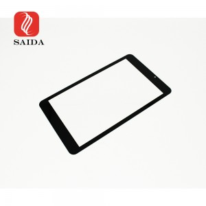 10.1inch 1.1mm Etched Anti-Glare Touch Screen Toughened Glass for Rugged Tablet PC