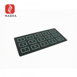 New Design 1.1mm Front Protective Glass with Etched Anti-Glare for Door Access Control