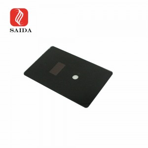 2mm 3mm Smart Home Security Card Access Front Glass with Dead Front Printing for Display Area