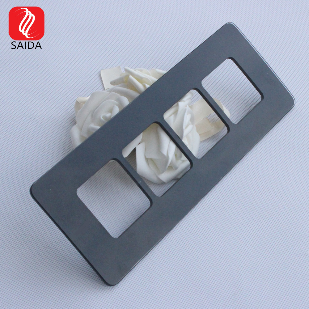 Lowest Price for 8mm Laminated Glass - Switch Touch Panel Glass  – Saida