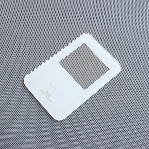 Discount wholesale Digital Scale With Glass Platform - China Supplier China White Silk Printing Tempered Toughened Glass Panel Plate – Saida
