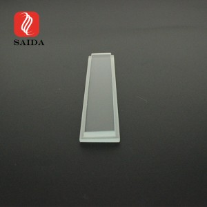 High Quality High Transmittance Low Iron LED Extra Clear 4mm Step Toughened Glass Panel for Buried Lighting