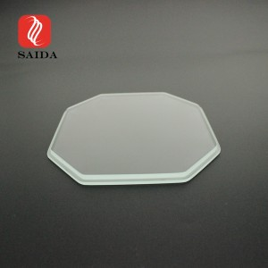 Waterproof 4mm Irregular Shape Toughened Step Glass for Buried Lighting