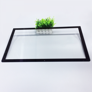 Over 96% Transmittance Anti-Reflective Front Tempered Glass for Terminal Display Screen