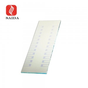 100x100x2.2mm Over 85% Transmission Flourine doped Tin Oxide FTO Glass for Lab. Testing