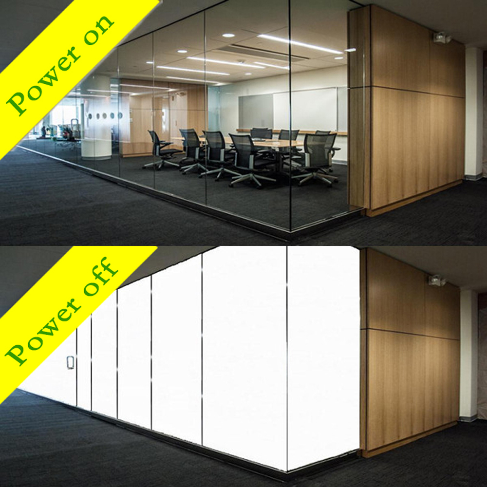 Magic Switchable Privacy Protection PDLC Smart Glass Factory Supply Price Featured Image