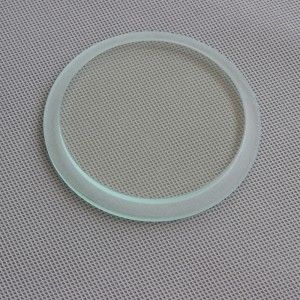 High Quality Round Square 6mm Ultra Clear Tempered Glass for LED Lamp