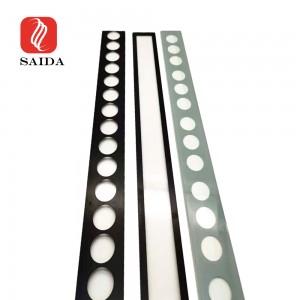 3mm 4mm ສີ່ລ່ຽມກັນນ້ ຳ ກັນLEDາຜະ ໜັງ LED ເຮັດໃຫ້ມີແສງກະຈົກ Toughened ກະຈົກທີ່ມີການພິມ Silkscreen ເຊລາມິກສໍາລັບການເຮັດໃຫ້ມີແສງສະຖາປັດຕະຍະກໍາ