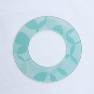 Factory Free sample Kitchen Scales Weights - Customized Round Ceramic Glass for Ovenware; OEM 4mm Transparent Ceramic Glass with Print – Saida