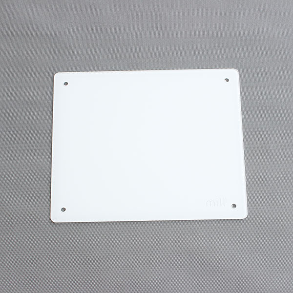 Factory directly supply Laminated Flooring Glass - Good Quality Reasonal Prince Heater Cover Glass Panel – Saida