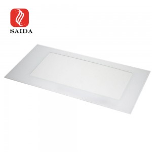 Factory Supply 4mm Toughened Glass with Black/White Ceramic Frit Printing for Oven Door