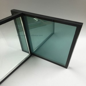 Custom Double Glazing Curtain wall 4 – 10mm Float Glass Lowe Reflective Insulating Glass