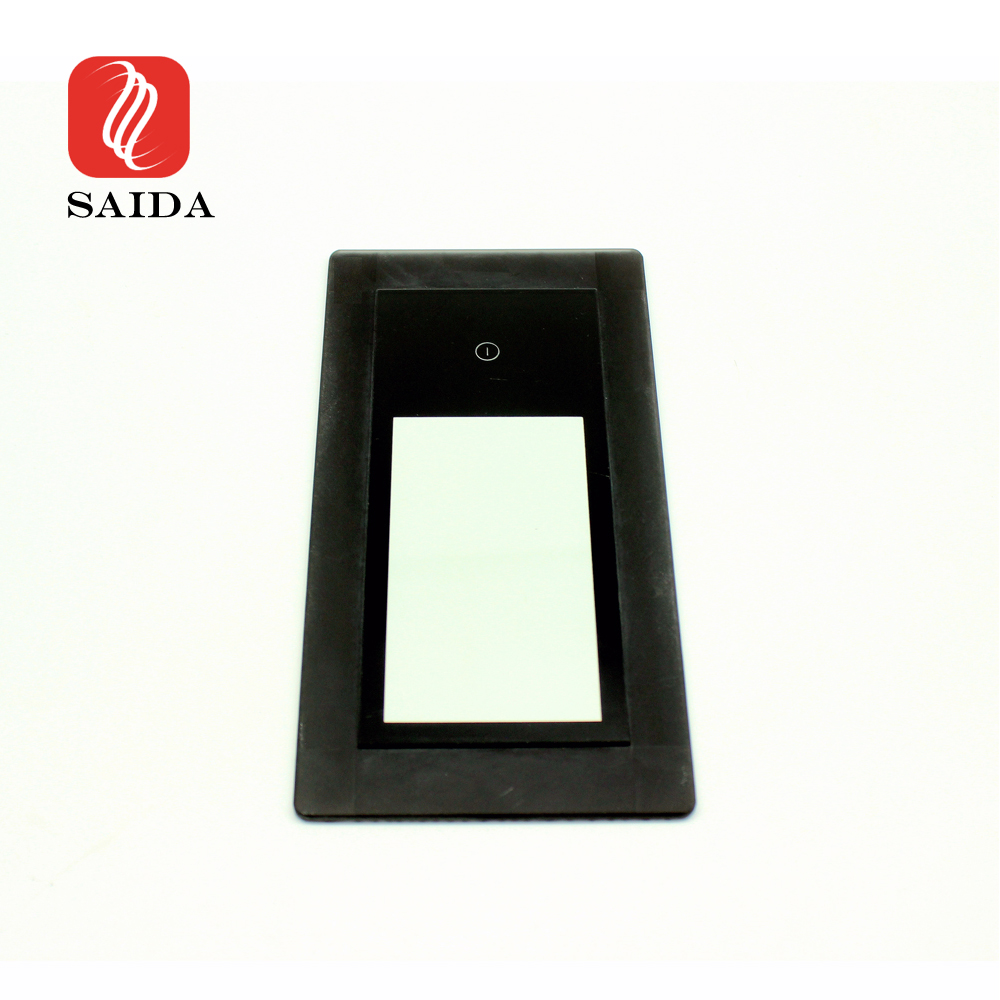 Factory Supply 6mm 8mm Black Printed Stepped Toughened Glass for Induction Cooker Featured Image